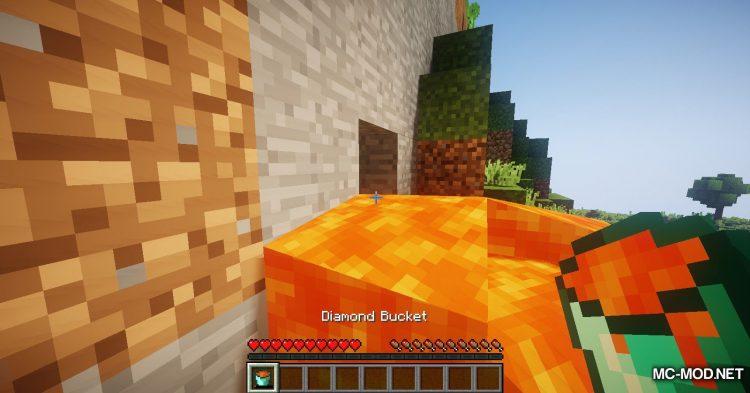 More Buckets mod for Minecraft (12)