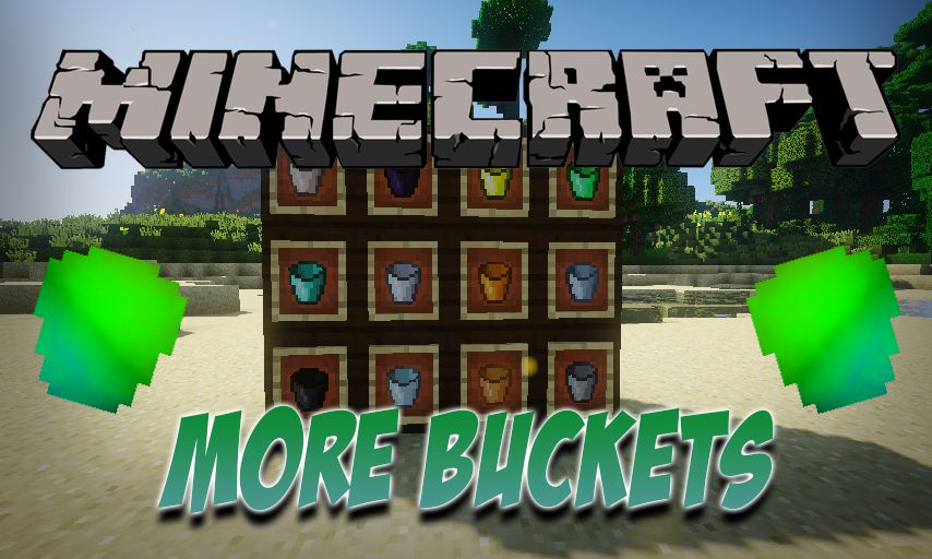 More Buckets mod for Minecraft logo