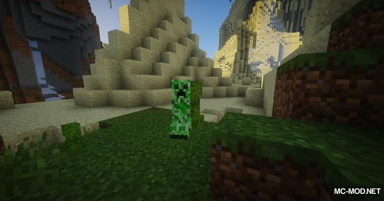 Organic Creepers mod for Minecraft (6)