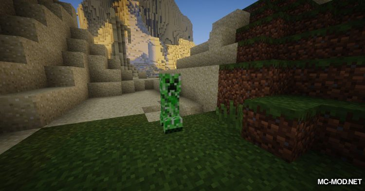 Organic Creepers mod for Minecraft (7)