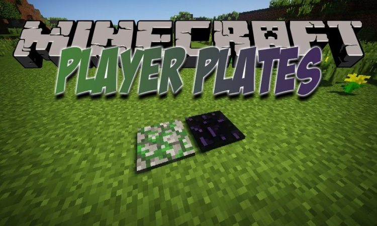 Player Plates mod for Minecraft logo
