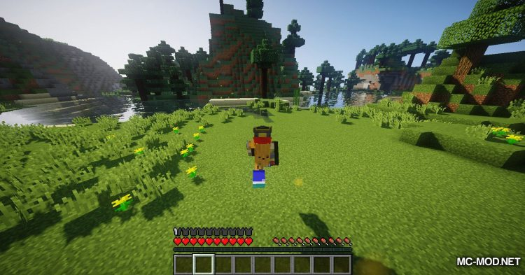 Running Shoes mod for Minecraft (5)