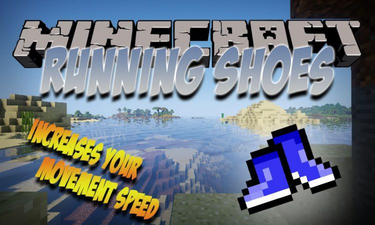 Running Shoes mod for Minecraft logo