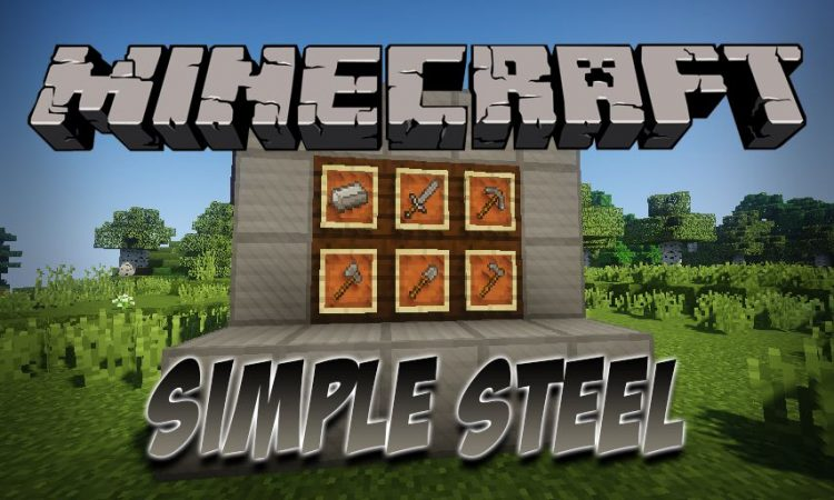 Simple Steel mod for Minecraft logo
