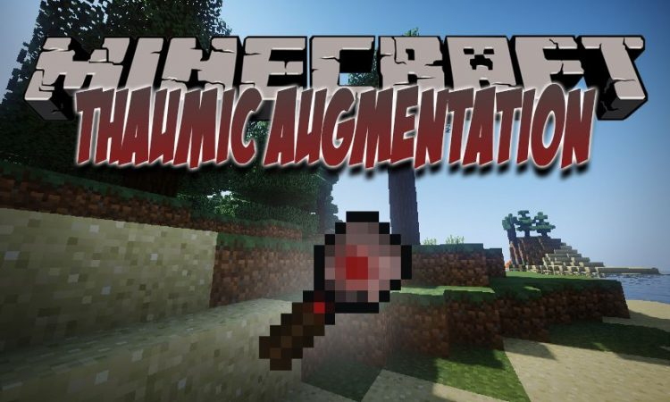 Thaumic Augmentation mod for Minecraft logo