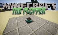 The Plopper mod for Minecraft logo