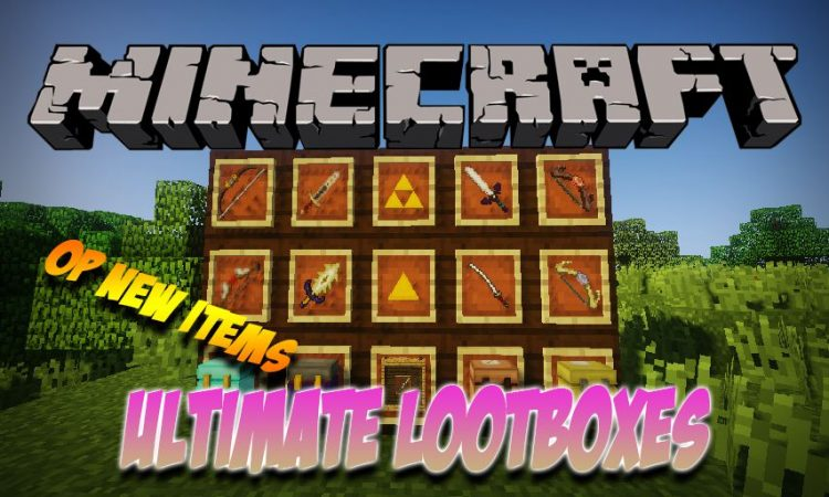 Ultimate Lootboxes mod for Minecraft logo