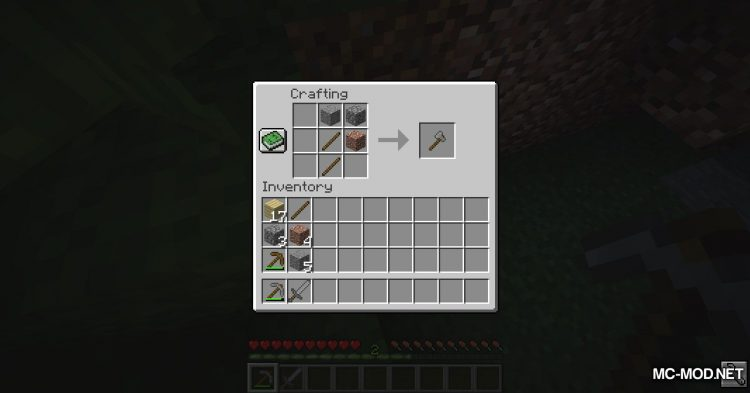 Unified Stone Tools mod for Minecraft (9)