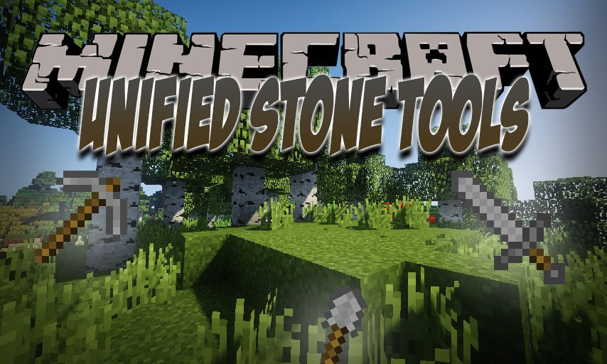 Unified Stone Tools mod for Minecraft logo