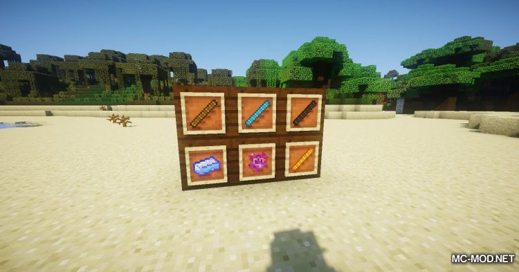 Asgard Weapons mod for Minecraft (4)