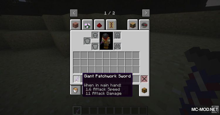 Asgard Weapons mod for Minecraft (9)