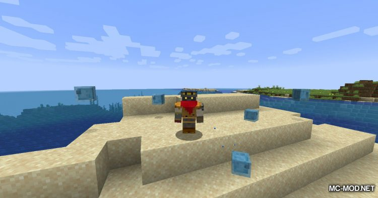 Beach Slimes mod for Minecraft (11)