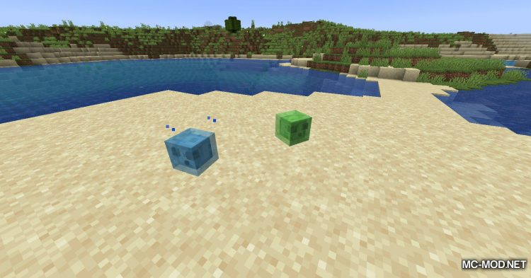 Beach Slimes mod for Minecraft (12)