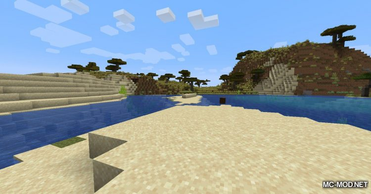Beach Slimes mod for Minecraft (2)