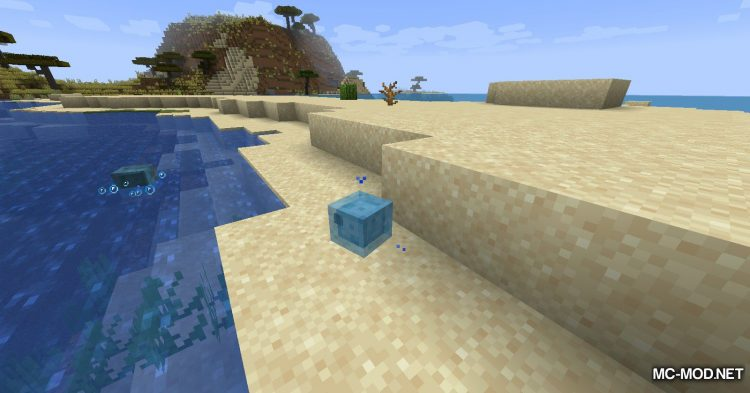 Beach Slimes mod for Minecraft (4)