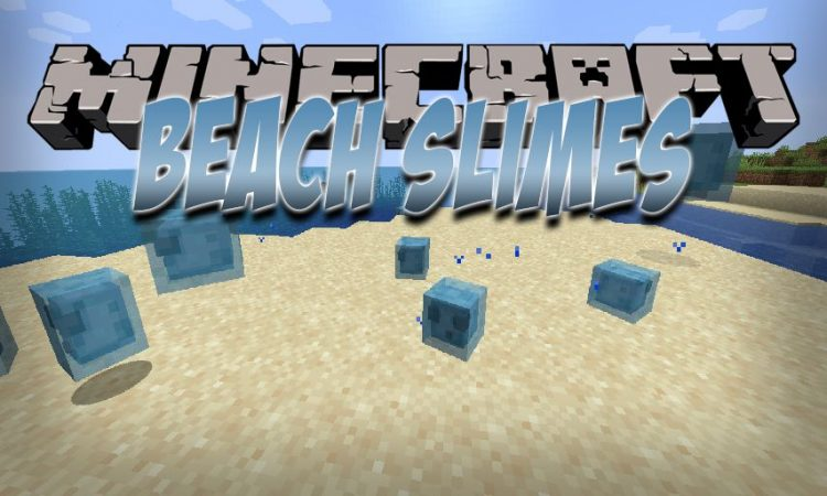 Beach Slimes mod for Minecraft logo