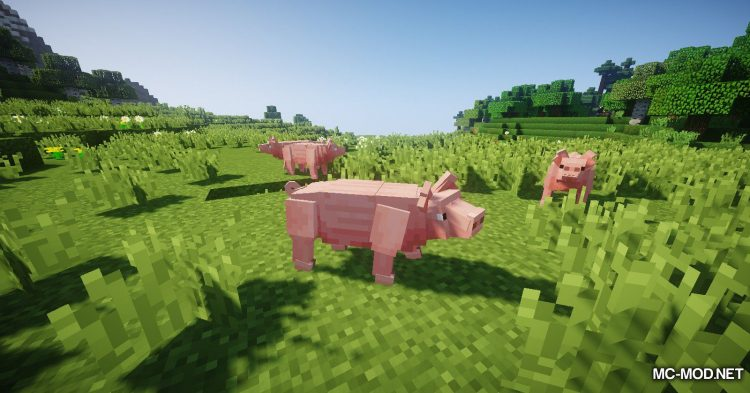 Better Animal Models mod for Minecraft (9)