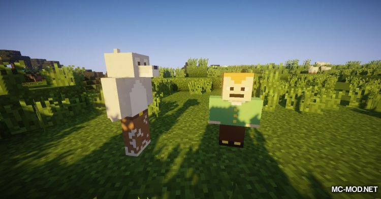 Better Creatures mod for Minecraft (8)