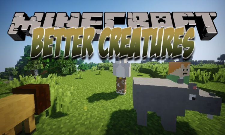 Better Creatures mod for Minecraft logo