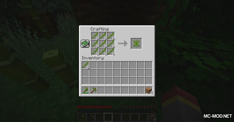 BetterBamboo mod for Minecraft (8)