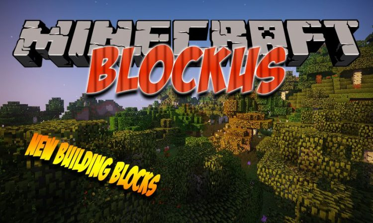 Blockus mod for Minecraft logo