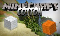 Cotton mod for Minecraft logo