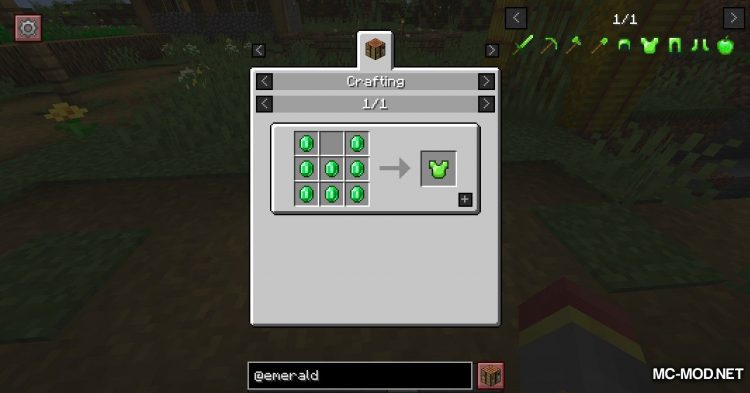 Emerald Tools mod for Minecraft (8)