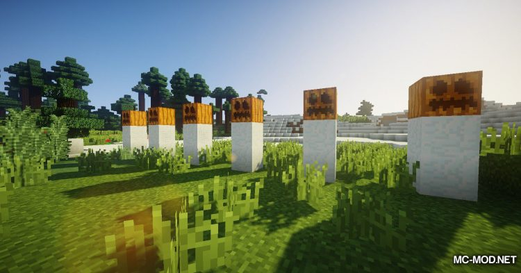 EnhancedSnowman mod for Minecraft (11)