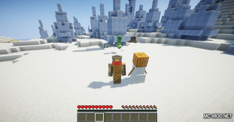 EnhancedSnowman mod for Minecraft (9)