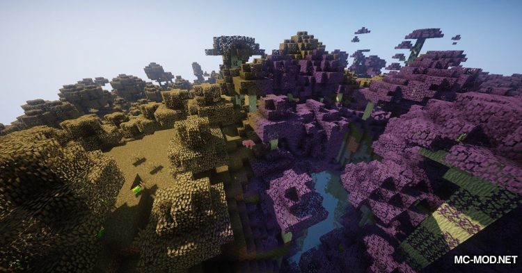 Environs++ mod for Minecraft (7)