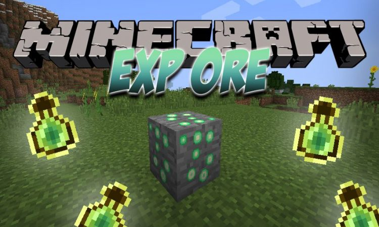 Exp Ore mod for Minecraft logo