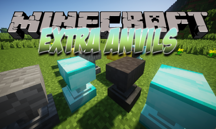 Extra Anvils mod for Minecraft logo