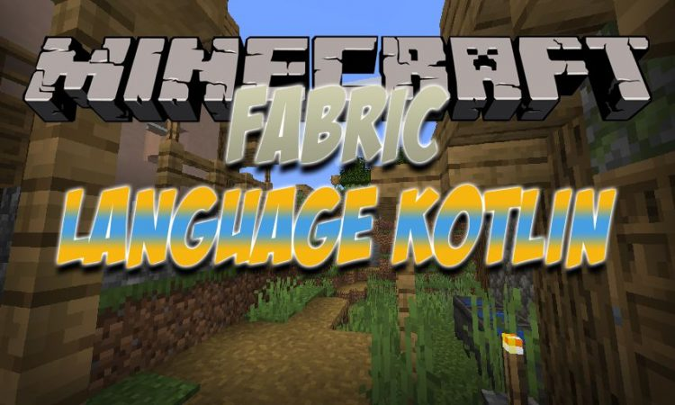 Fabric Language Kotlin mod for Minecraft logo