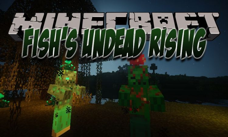 Fish_s Undead Rising mod for Minecraft logo