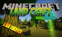 Land Craft mod for Minecraft logo