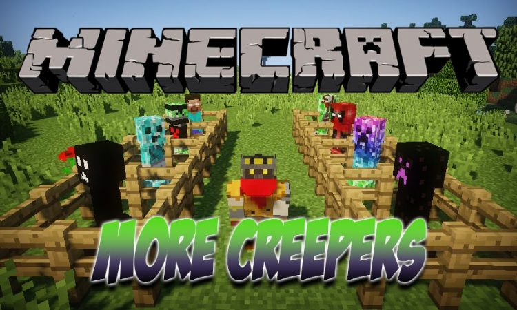 More Creepers mod for Minecraft logo