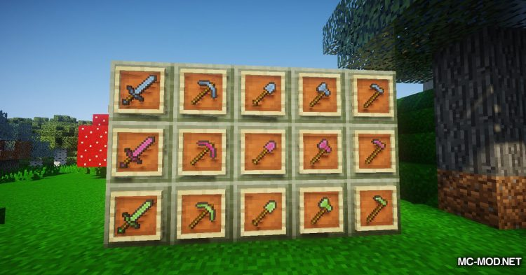 Natures Emerald mod for Minecraft (21)
