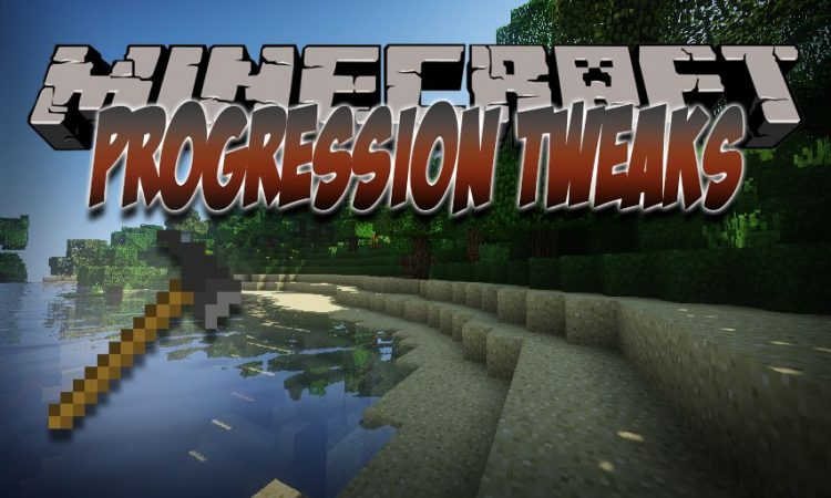Progression Tweaks mod for Minecraft logo