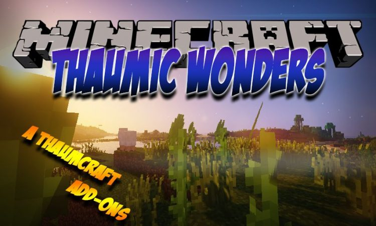Thaumic Wonders mod for Minecraft logo