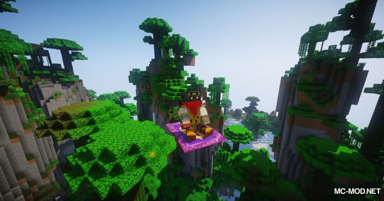 The Flying Things mod for Minecraft (18)