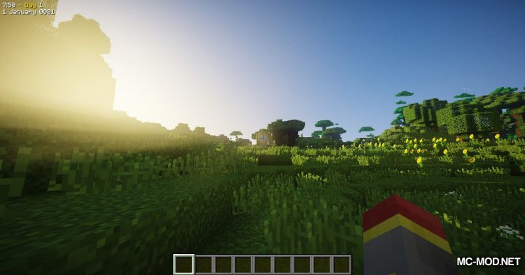 Time-speed Mod mod for Minecraft (2)