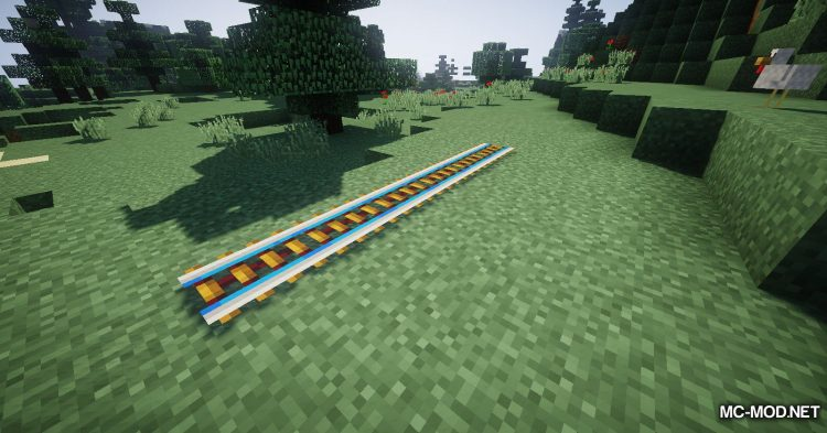 Useful Railroads mod for Minecraft (4)