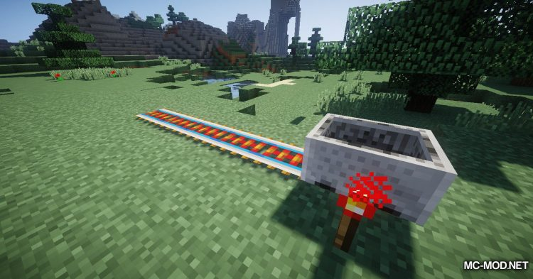 Useful Railroads mod for Minecraft (5)