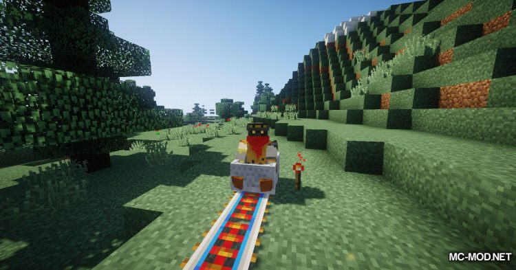 Useful Railroads mod for Minecraft (6)