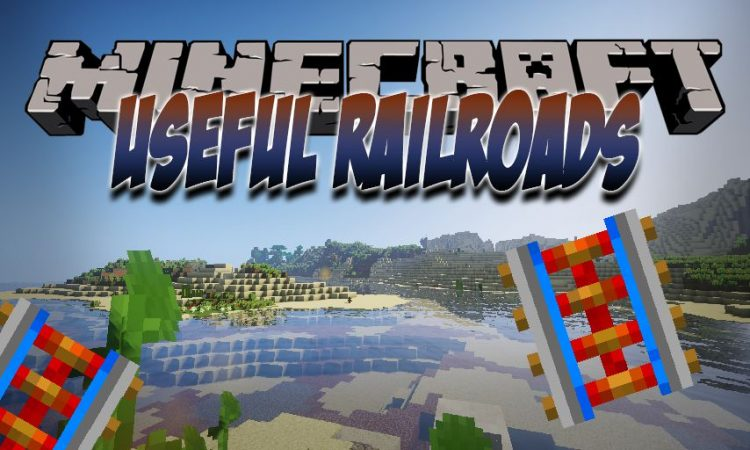 Useful Railroads mod for Minecraft logo