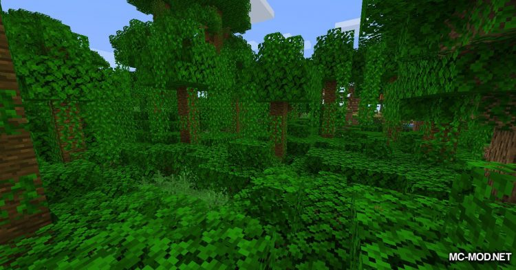 Bamboo Ladders mod for Minecraft (1)