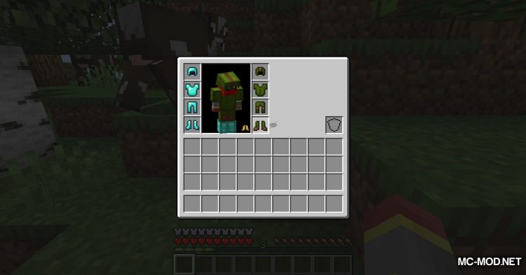 Cosmetic Armor Slots mod for Minecraft (5)