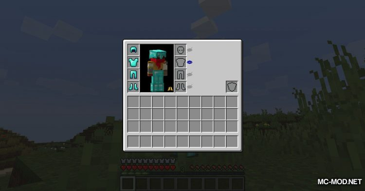 Cosmetic Armor Slots mod for Minecraft (7)