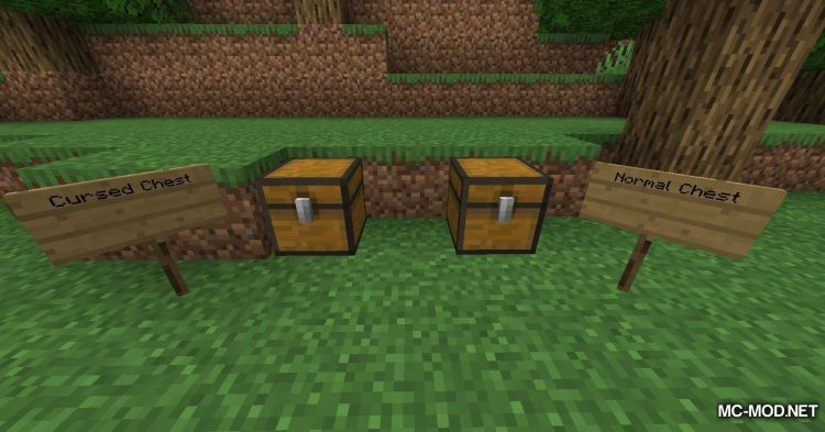 Cursed Chests mod for Minecraft (5)