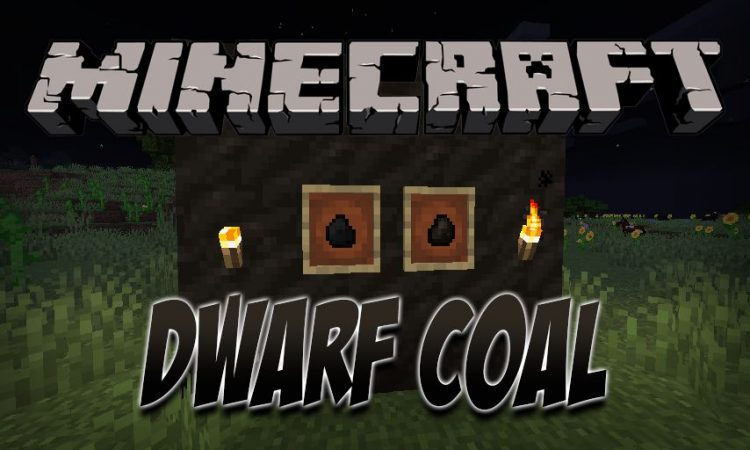 Dwarf Coal (Fabric) mod for Minecraft logo